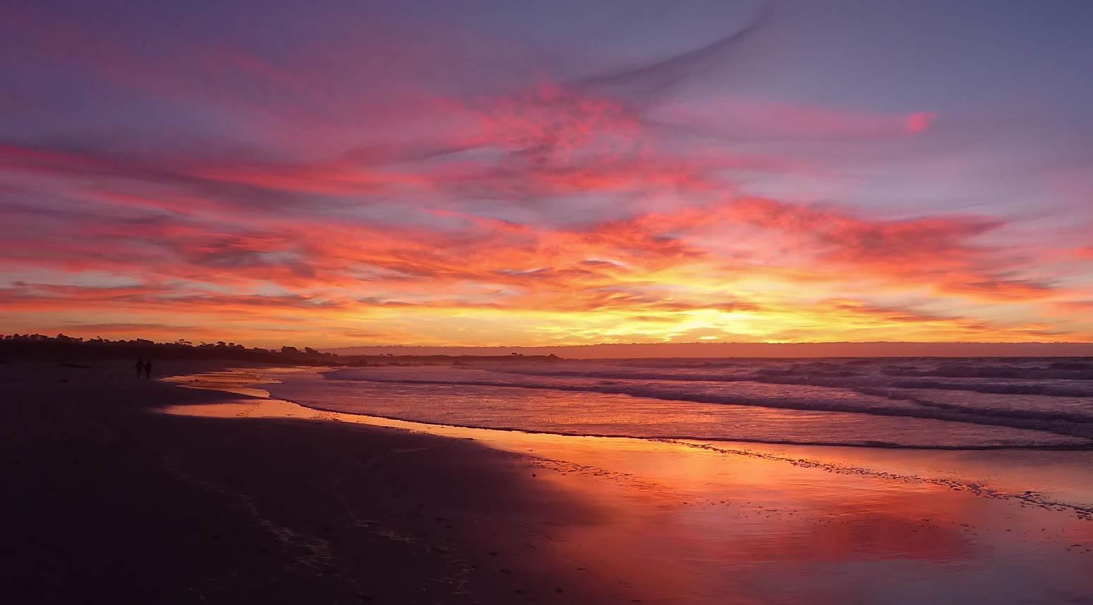 Sunset over Asilomar