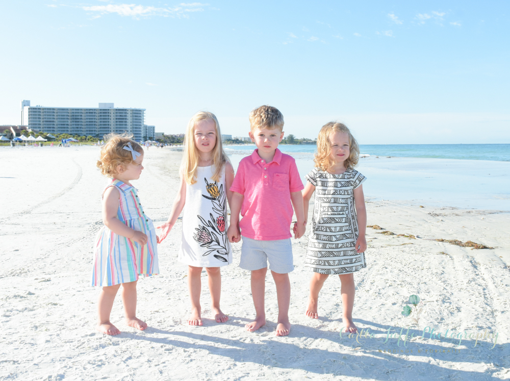 Family Portraits Photographer Siesta Key Beach