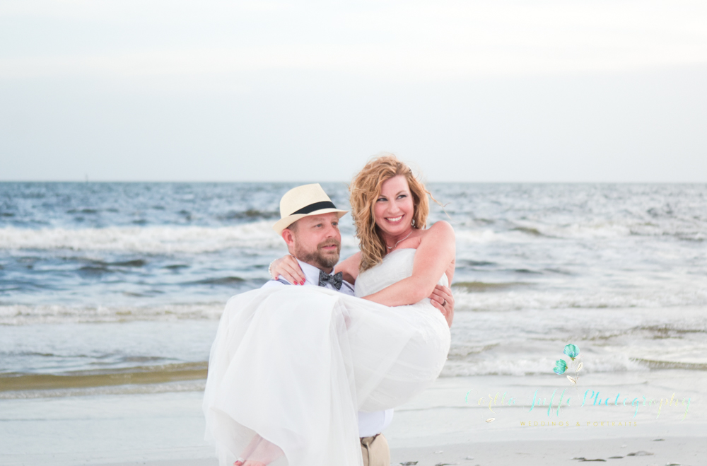 Siesta Key beach - Weddings on the beach - Carlla Juffo Photography