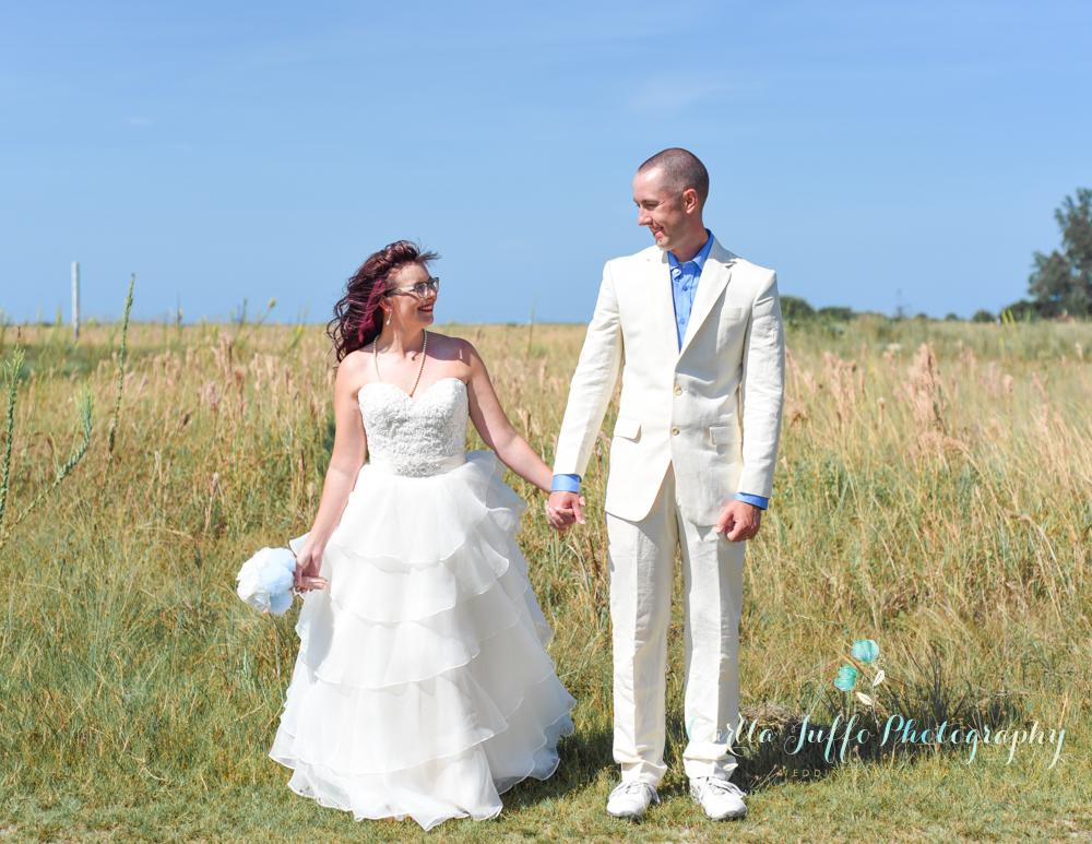 Nicole and Dan's Siesta Beach destination wedding