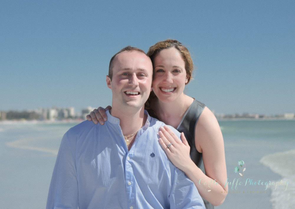 Surprise Proposal on Siesta Key Beach