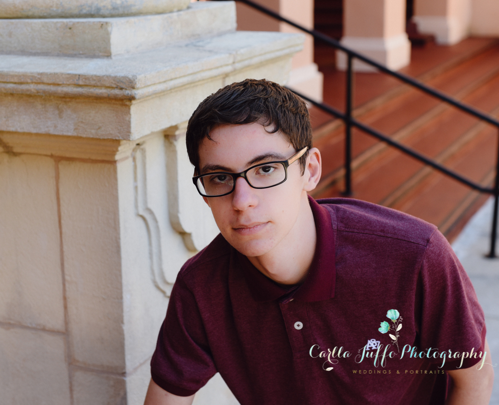 Unique and creative High School Senior Portraits by Carlla Juffo Photography