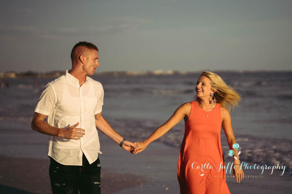 Siesta Key Best Engagement Photographer