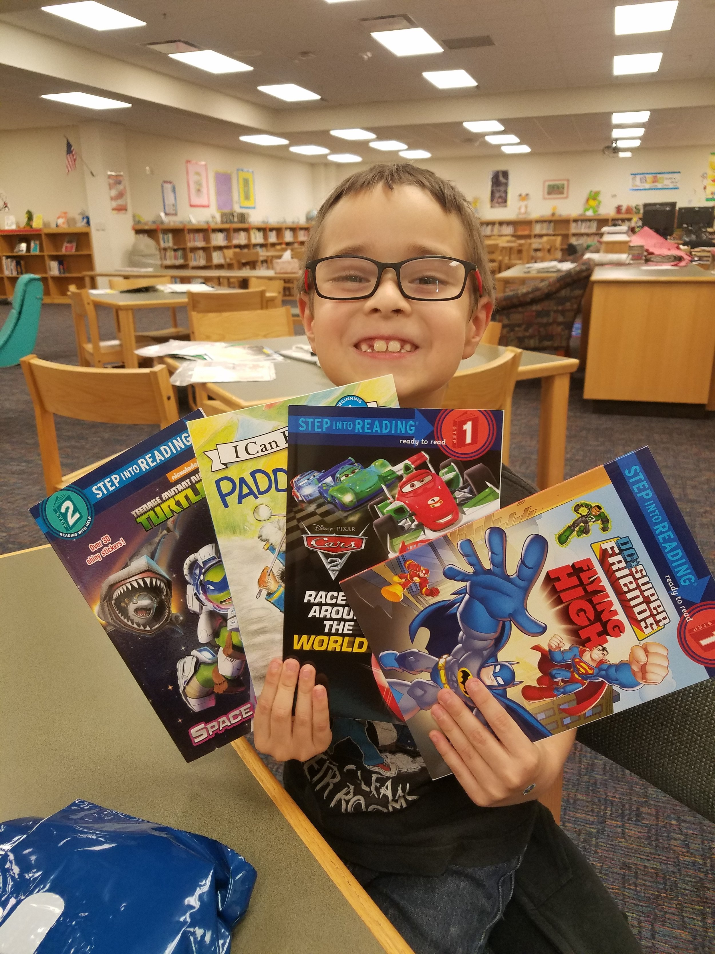 The Dollar General Literacy Foundation grant will provide SAReads students with books to encourage summer reading.