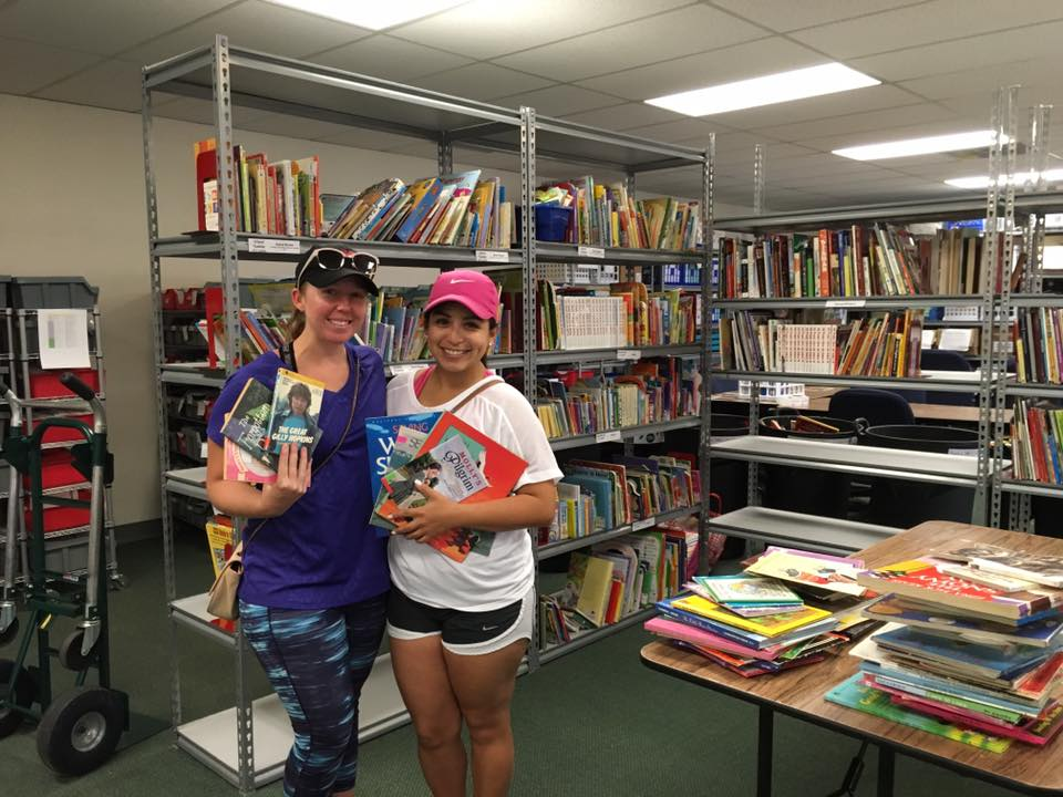 Since June, the SAReads Book Bank has received more than 500 book requests!
