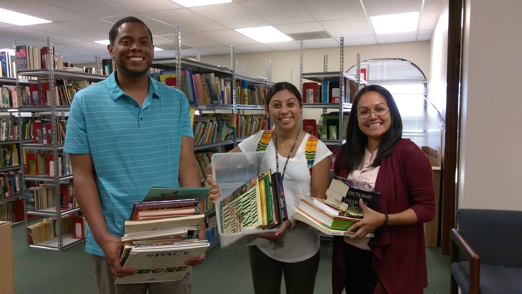 SAReads continues to collect Summer Book Drive Books and hopes to reopen the Book Bank request process soon.