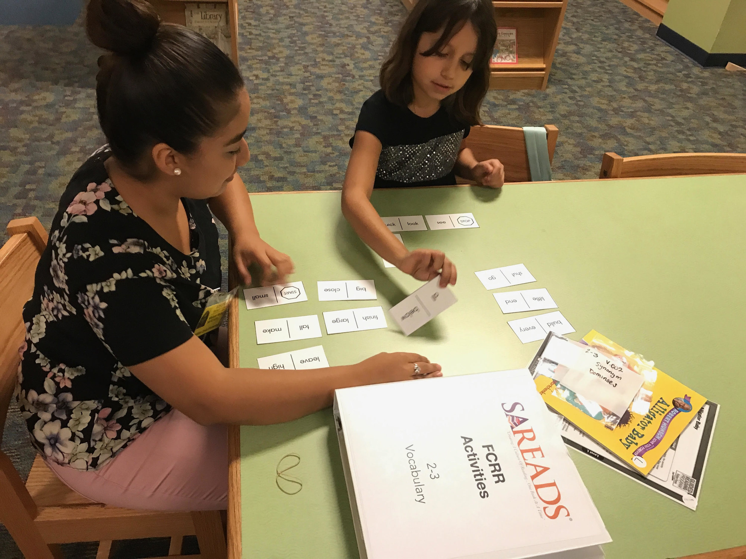 Tutors - In partnership with Texas A&M University San Antonio's College of Education and Human Development, Kindergarten through 4th grade students receive weekly reading tutoring from pre-service teachers enrolled in reading instruction courses.
