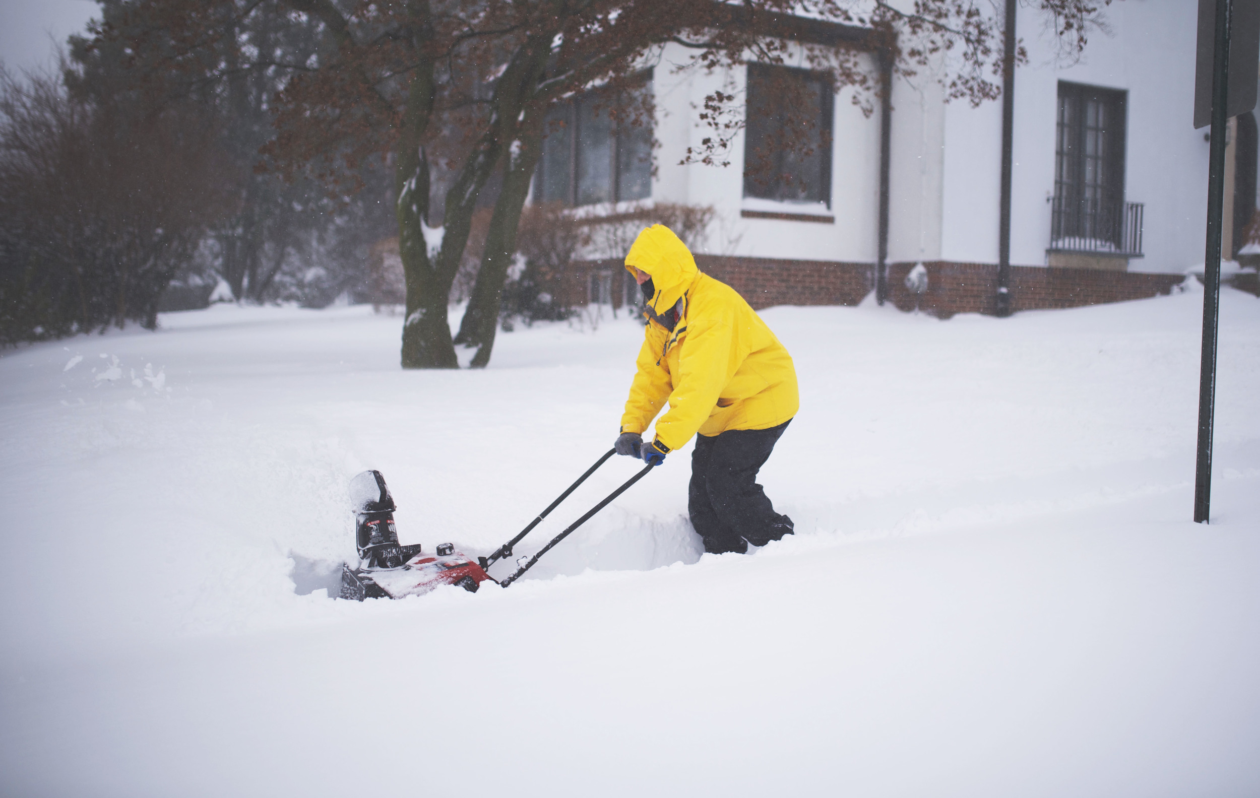 and of course the people who finally got use their snow blowers. They knew it would come in handy sooner or later.