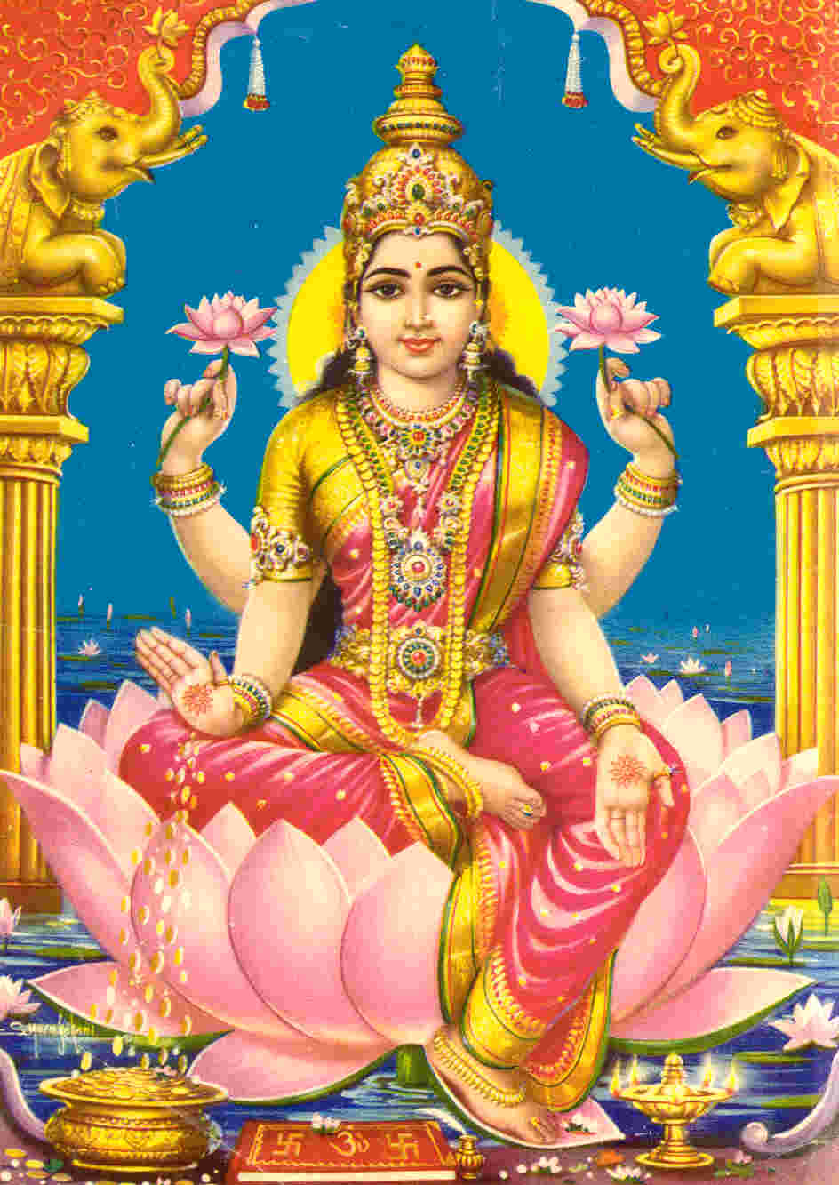 Lakshmi, Goddess of Abundance, Prosperity and Manifestation