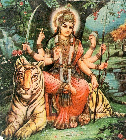 Durga Ma: Protector, Strength, Steadfastness and Justice