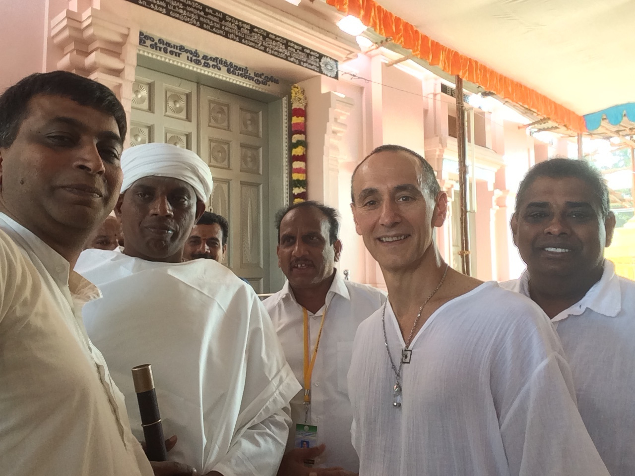 Siddha Yoga Initiate - I received diksha (initiation) into the Tamil Siddha Yoga lineage that goes back through Swami Ramalingam Vallalar to Thriumular via Swami Thirugnananantha in Coimbatore India in 2018. I also attended the Darshan of Divine Light (Jyothi) at Sathya Gnana Sabhai in Vadalur.