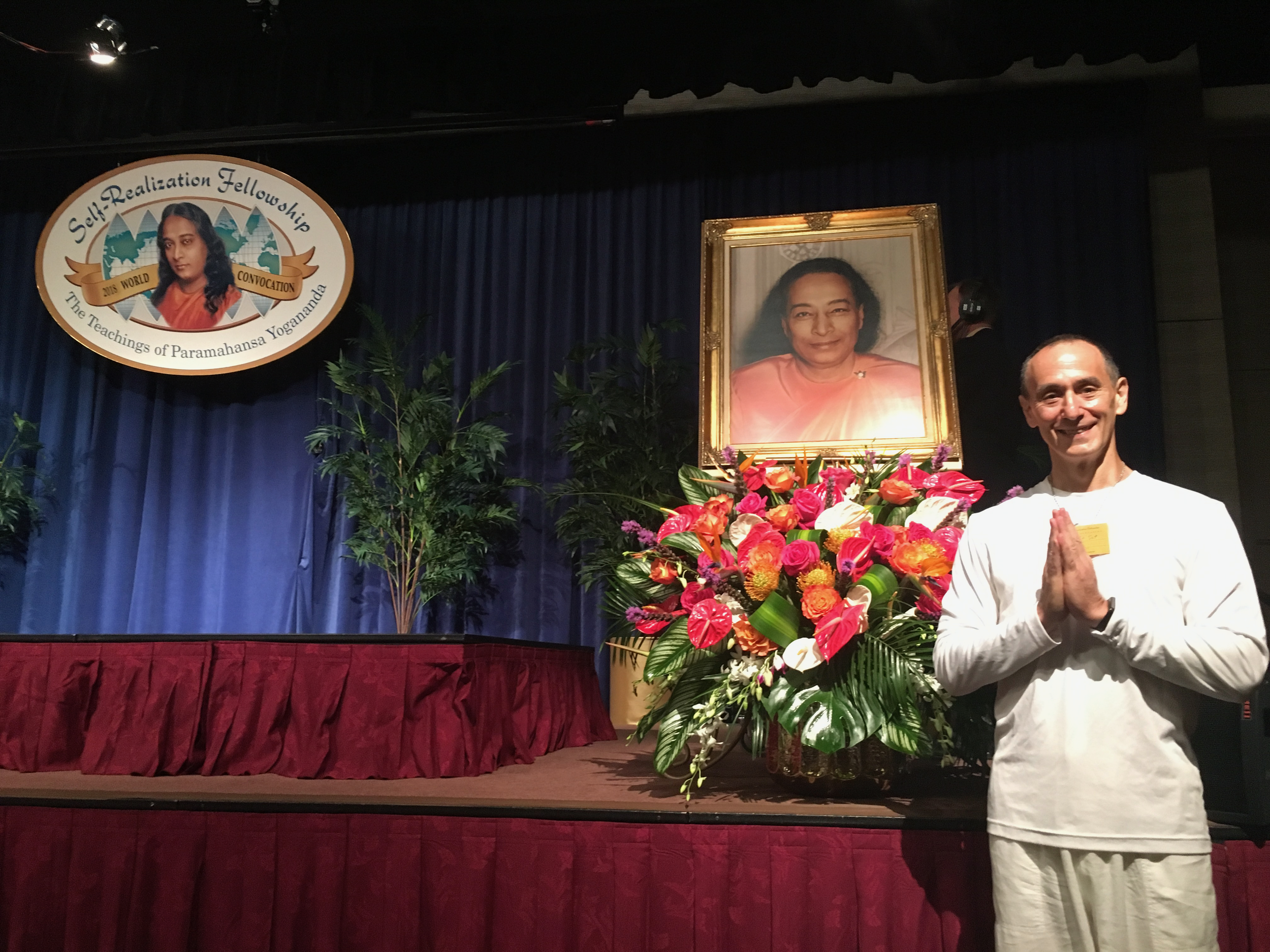 Kriya Yoga - I am a student of the Self-Realization Fellowship teachings of Paramahansa Yogananda and received the Kriya Yoga initiation during the 2018 Self-Realization Fellowship Convocation.