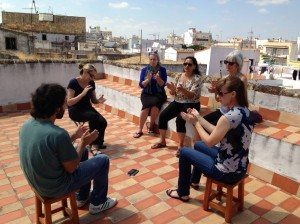 Palmas on the rooftop