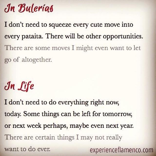 In Bulerías: In Life