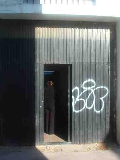 door at studio