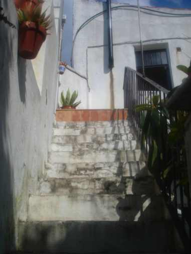 stairs to azotea