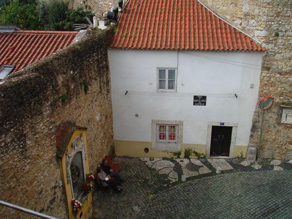 on the way to the castelo Lisboa
