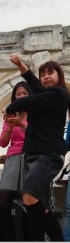Akiko dancing bulerías