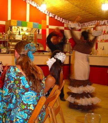Sevillanas at the Fería de Caballo in Jerez