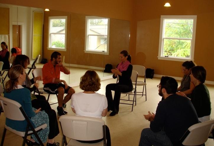 Palmas workshop with Ricardo López