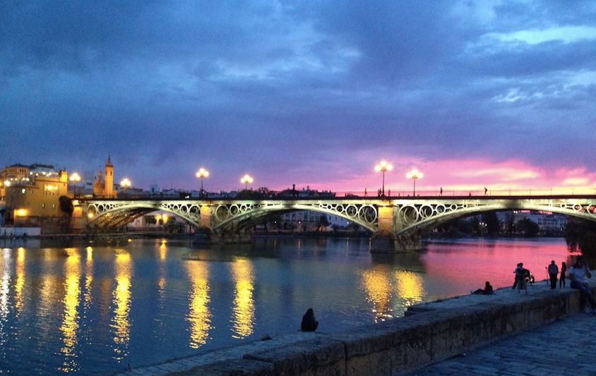 Puente de Triana Sunset