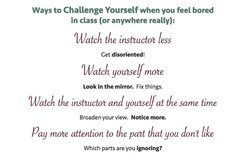 Ways to Challenge yourself