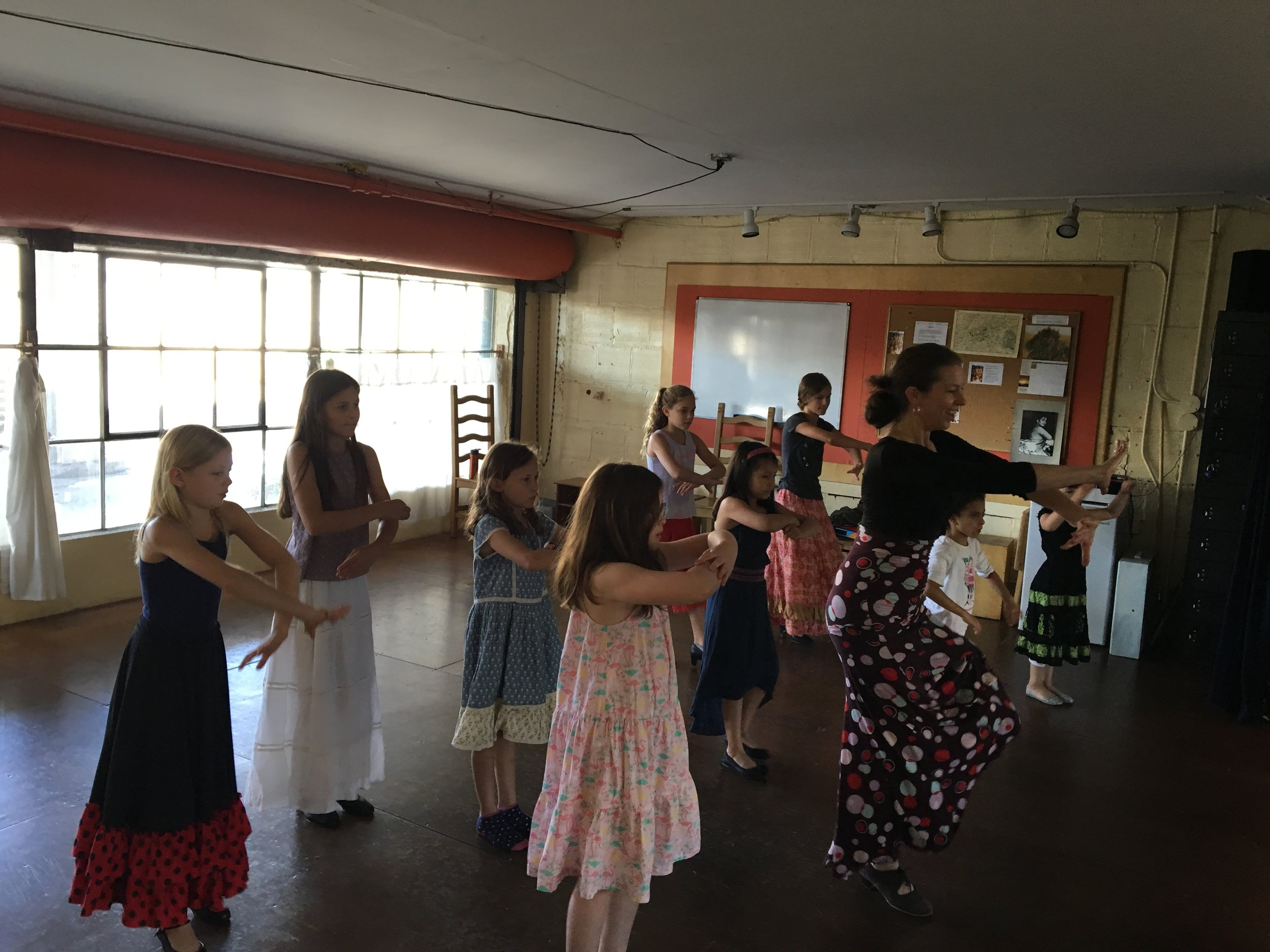 kids flamenco class in Portland