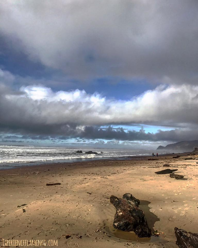 What the beach looked like just after a rainbow.jpg