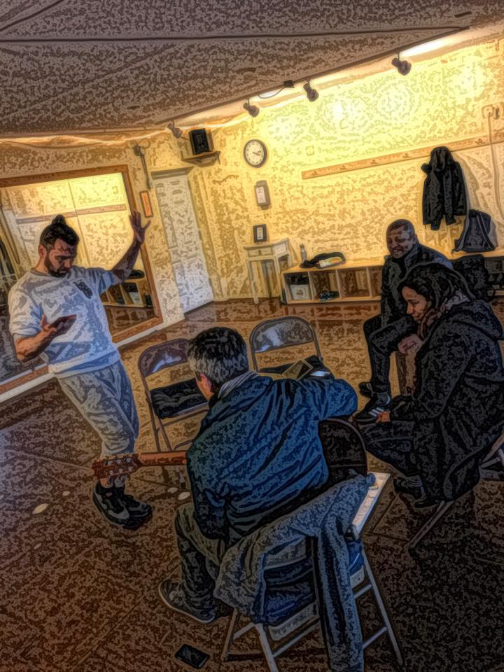rehearsal with Nat, Lamiae & Mimy.jpg