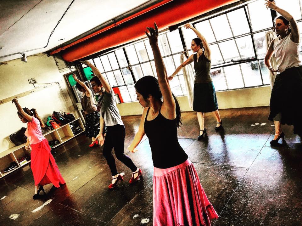 flamenco class in Portland