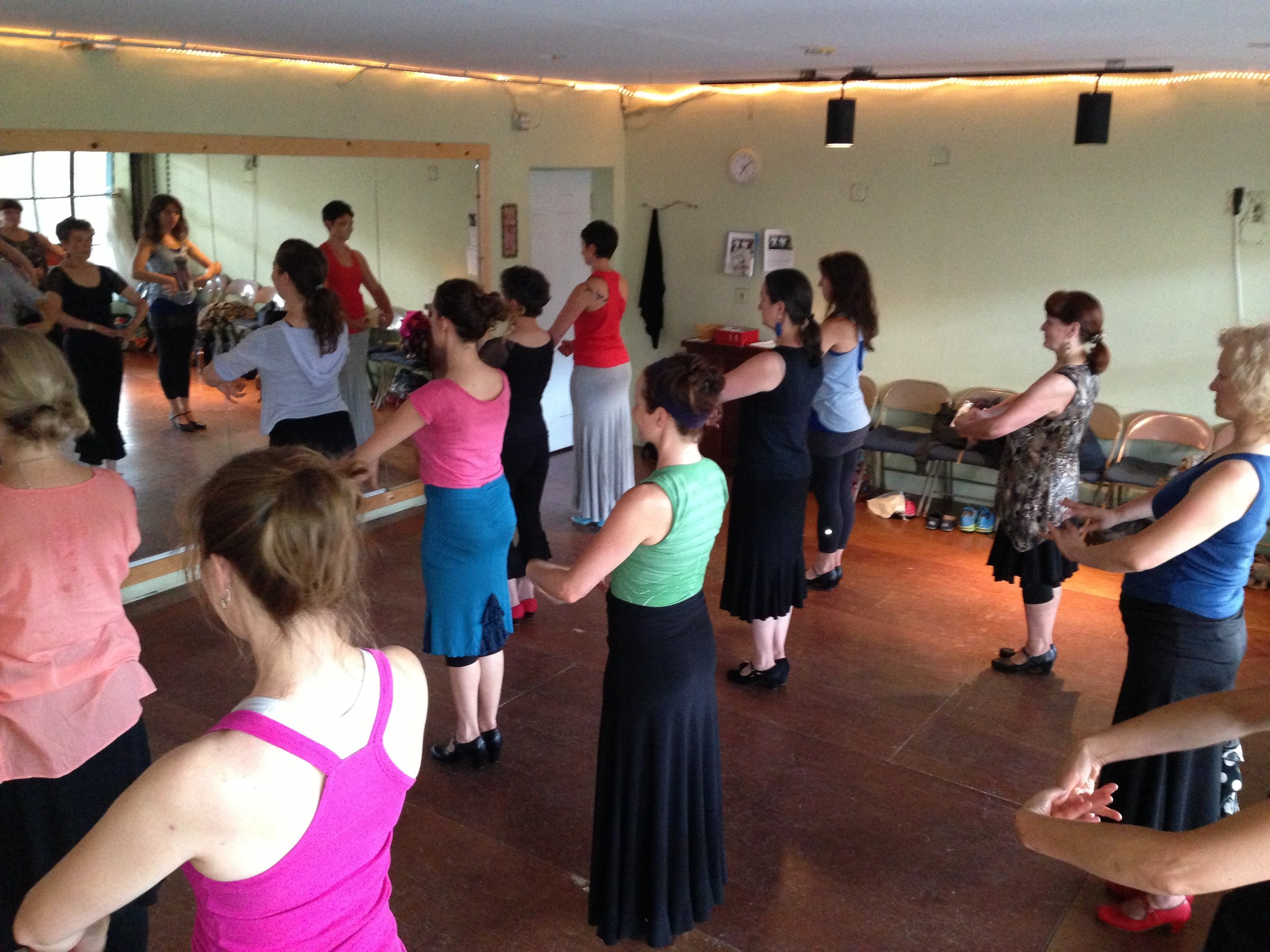 flamenco technique class in Portland
