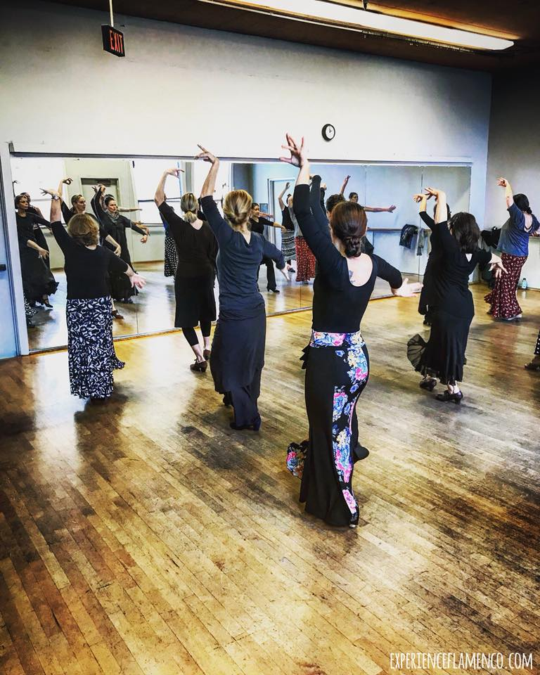flamenco workshop in Portland