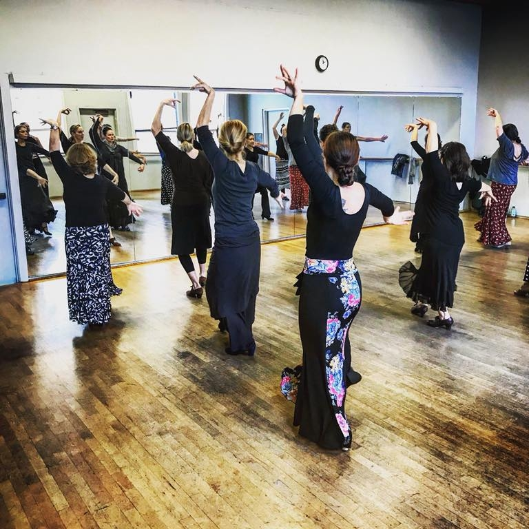 Flamenco classes in Portland