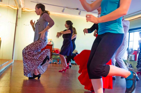 Portland Tribune Fanning Flames of Flamenco - Photo credit Jonathan House