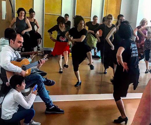 Bulerías workshop with Mercedes Ruiz in Portland