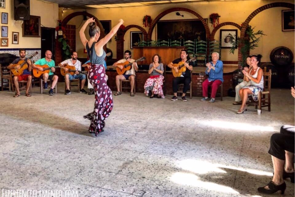 Dancing bulerías on the Flamenco Tour to Jerez (Photo by Margaret Cheung)