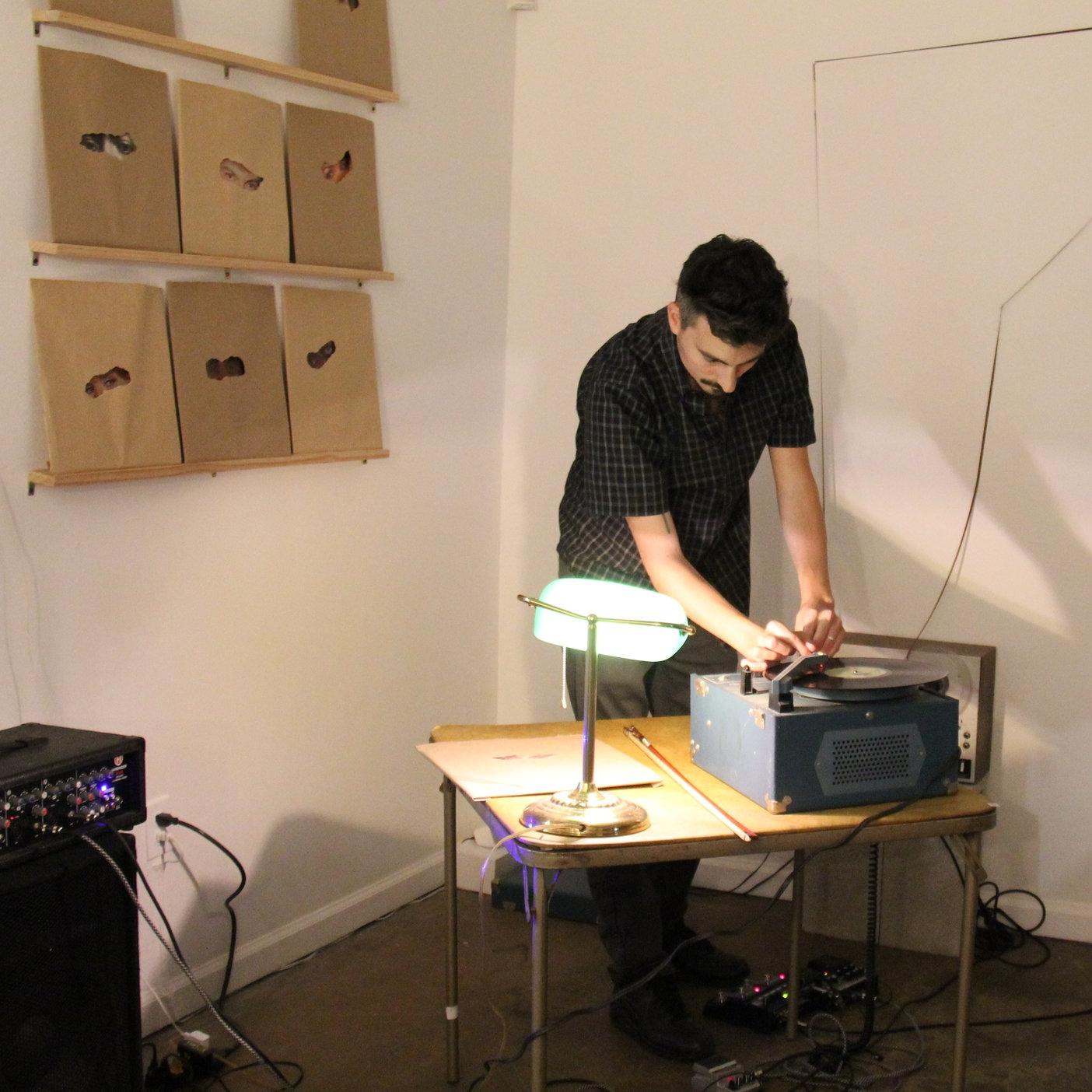 RICHARD VERGEZ  Residency: SEPTEMBER 2018 Events:  EXHIBITION  / PERFORMANCE / ARTIST TALK  WEBSITE