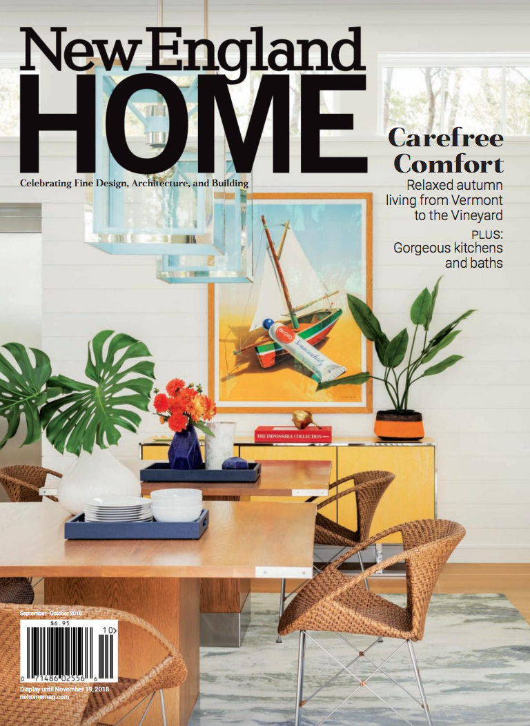 New England Home Magazine 5 Under 40