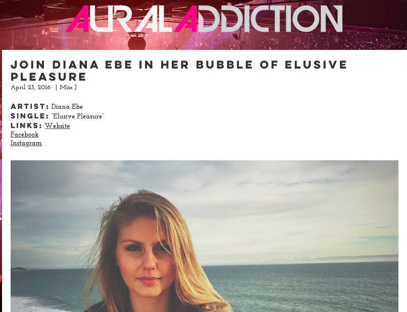 Aural Addiction interviews Diana Ebe