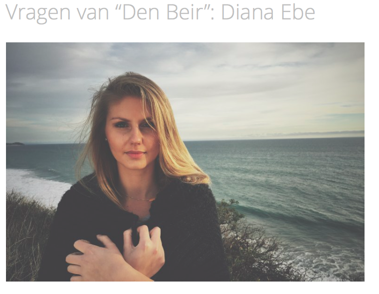Dansende Beren from the Netherlands interviewing Diana Ebe