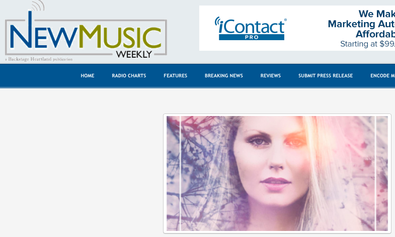 Diana Ebe featured on New Music Weekly