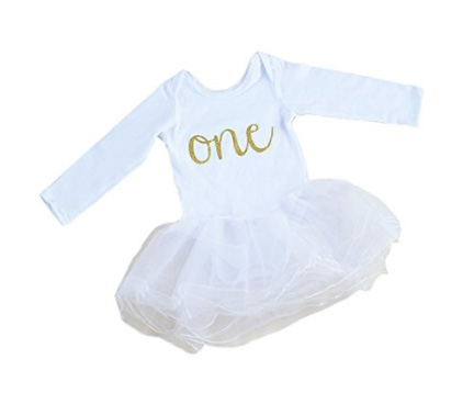 Vivi's Tutu dress  - click here to see it available on Prime right now for $25.00! I waited until the price was lower, so keep checking!