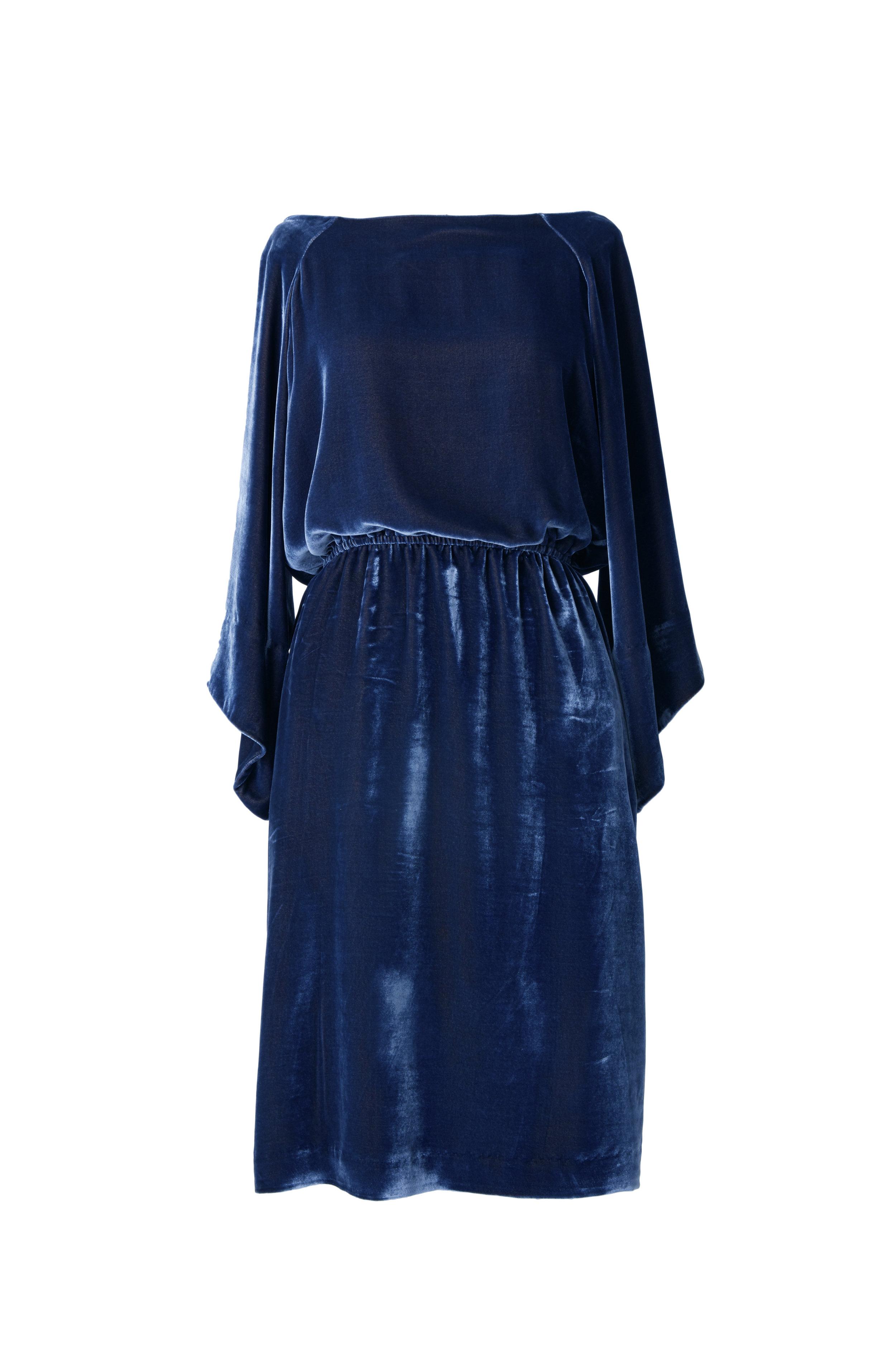 Erika 3303 Royal Blue Velvet