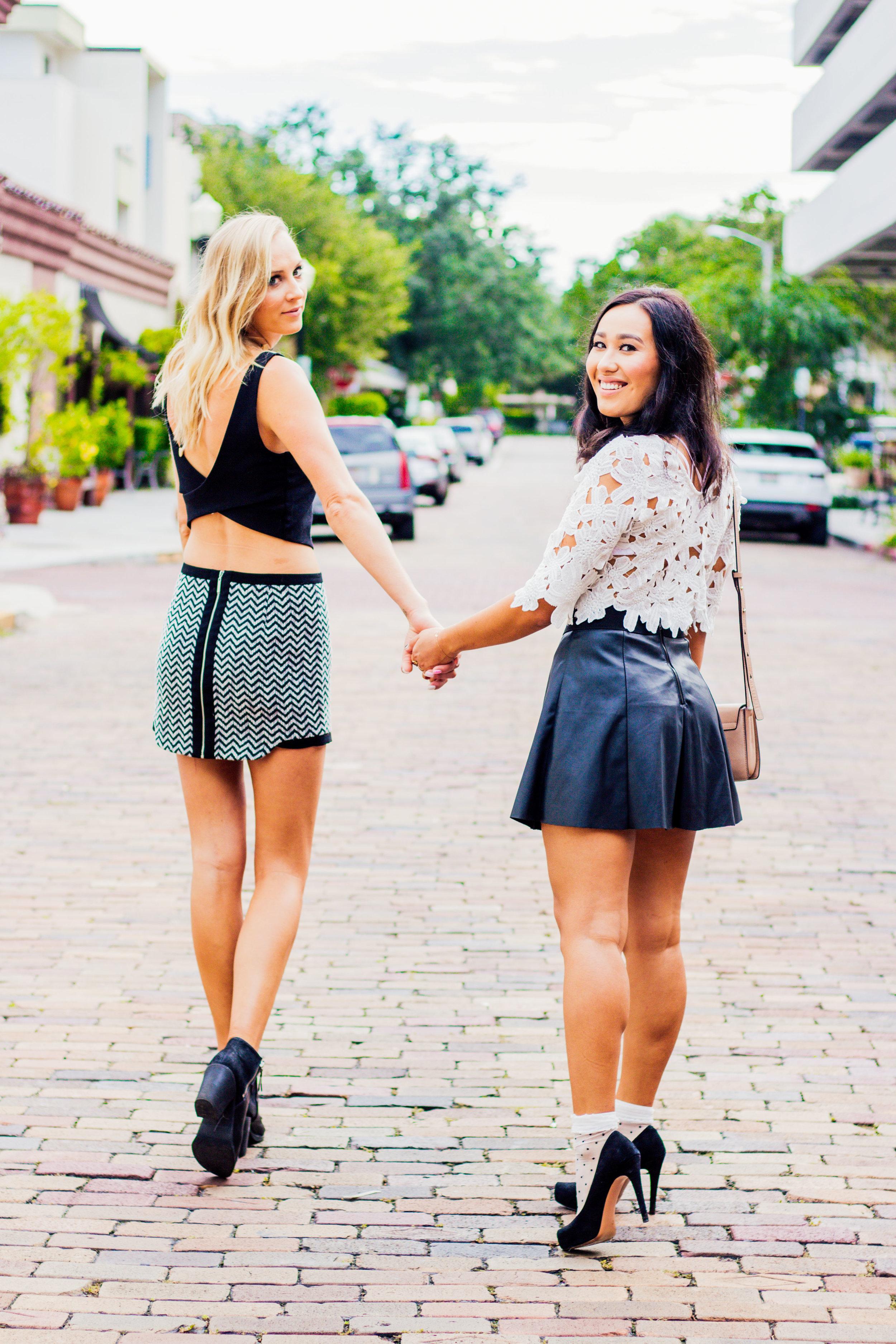 brunette-blonde-gossip-girl