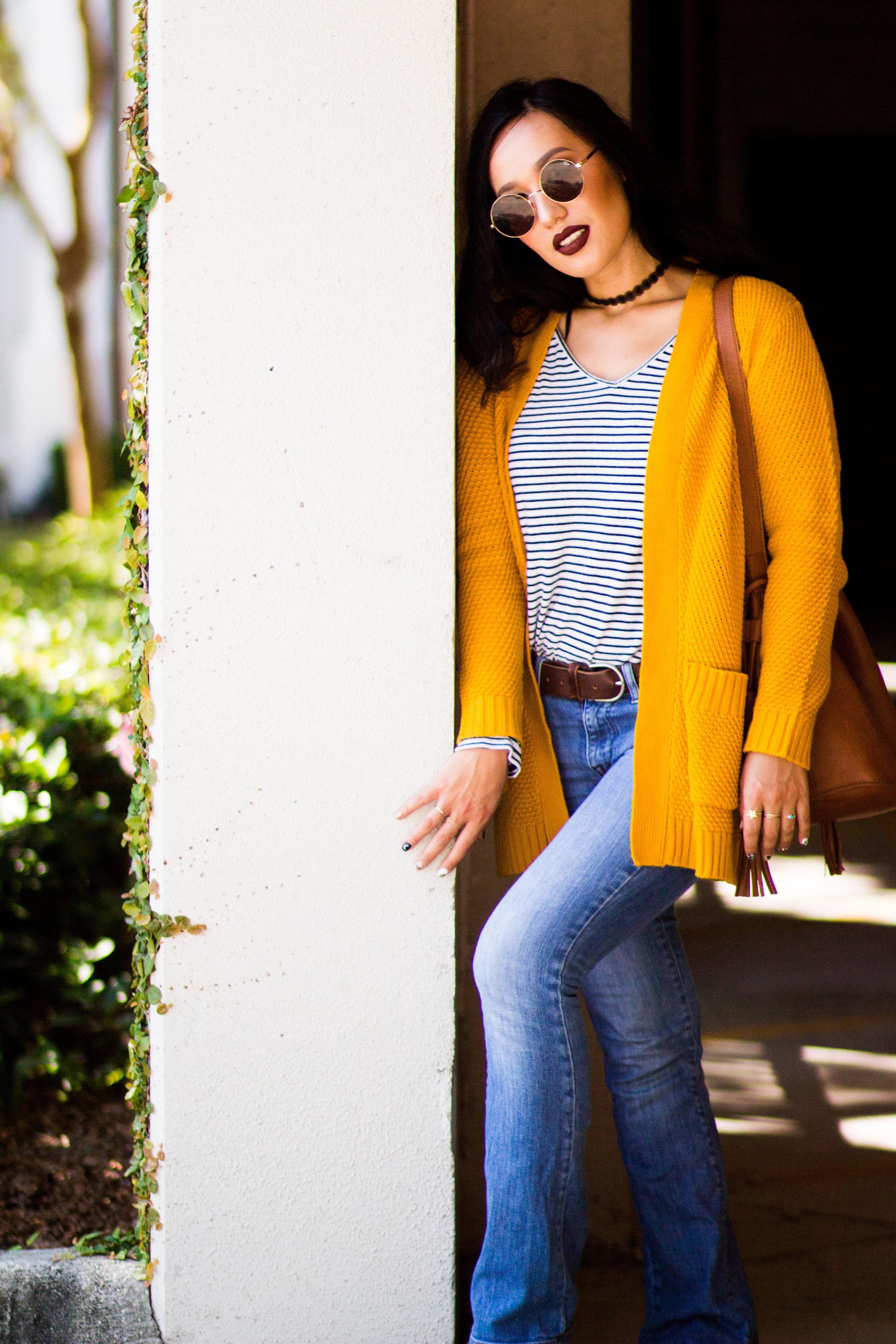 choker-flared-jeans-boho-fall-style