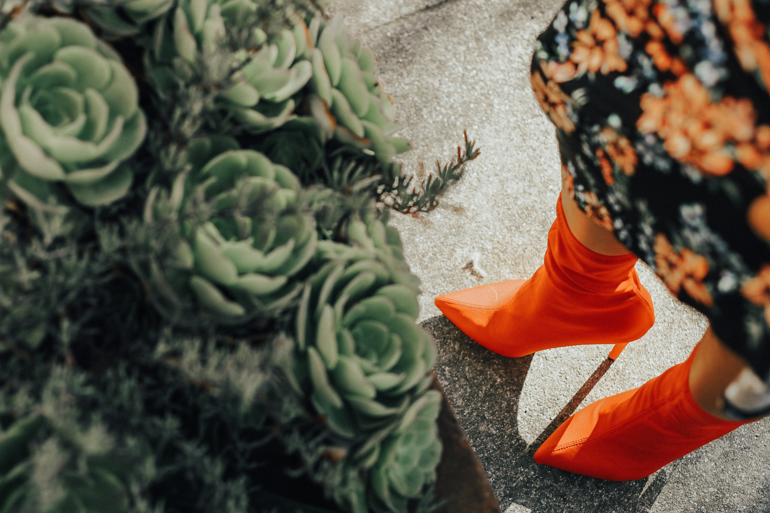 red-sock-booties-fall-trends