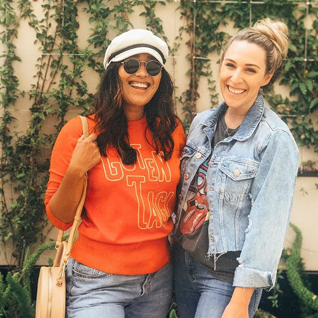 Guten tag from me and this QT girl! 🌞🌻 but srsly I have the cutest coworkers • • • • •  #fpme #freepeople #paloalto #ootdshare #aidavianna #dressup #currentlywearing #trendsetter #aboutalook #personalstyle #realoutfitgram  #revolvearoundtheworld #fpme #fblogger #ootd #sfblogger