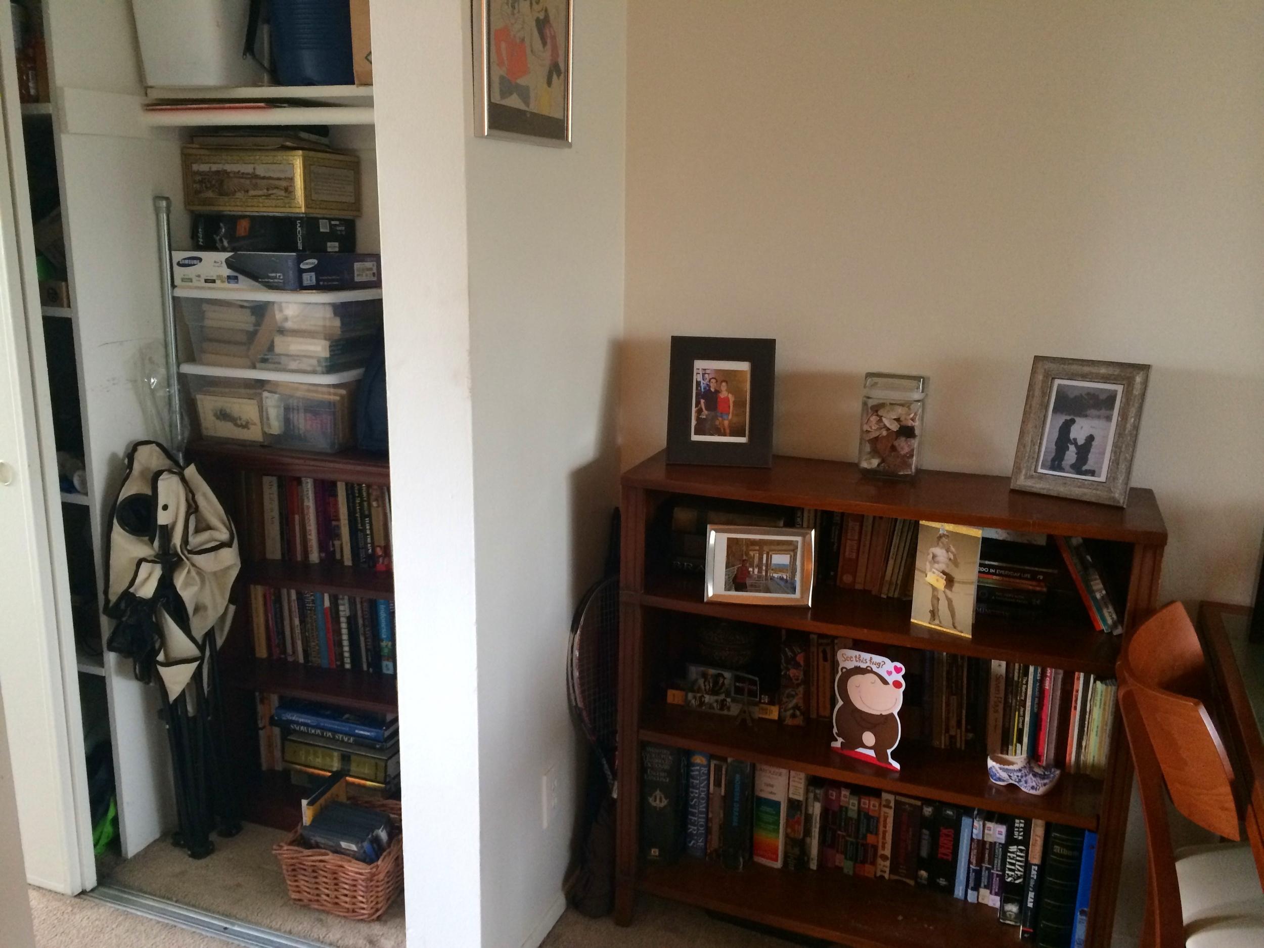 Organizing Closet Finished