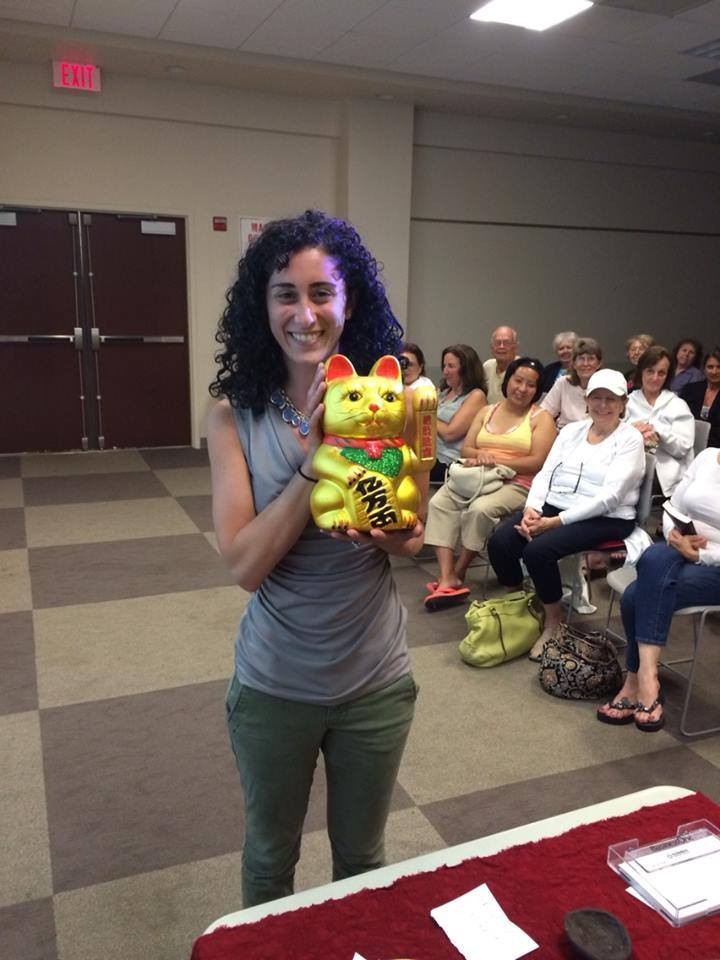 winnner of feng shui prize at workshop with los angeles expert laura cerrano .jpg