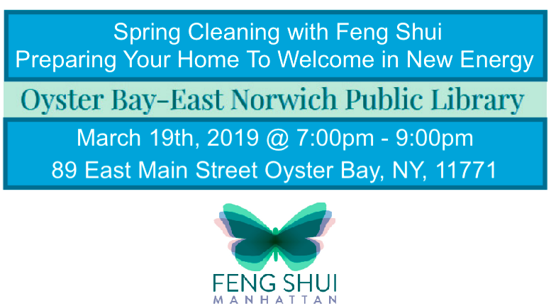 Oyster Bay- East Norwich Public LIbrary Feng Shui Workshop Laura Cerrano.png